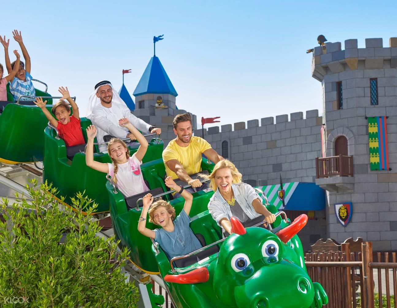 Roller coaster legoland